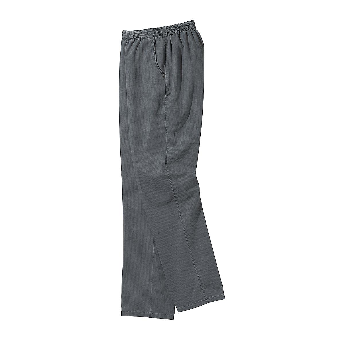luigi morini bequeme schlupfhose mit gummizug farbe grau gr enspezialist m nnermode. Black Bedroom Furniture Sets. Home Design Ideas