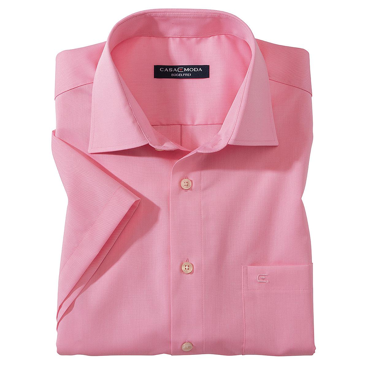 Farbe Korall casa moda city hemd bügelfrei cotton farbe koralle