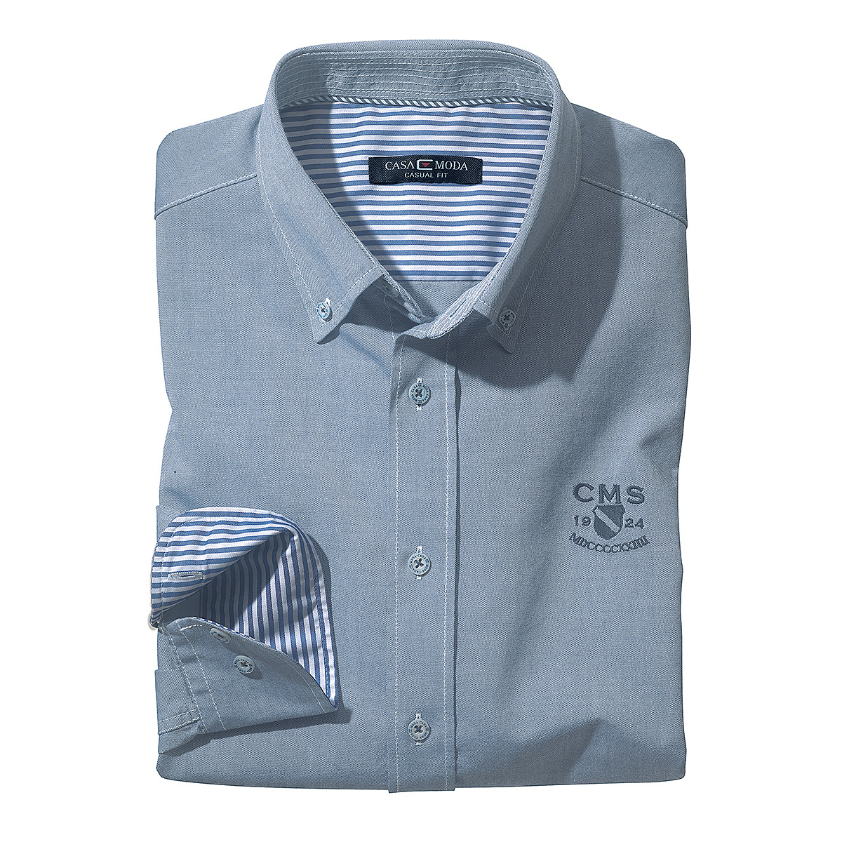 size 40 b579c fef87 Casa Moda | Herrenhemd mit Button down Kragen | Oxford uni