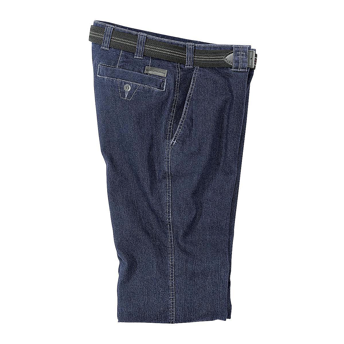 jeans mit bequemen seitlichen schubtaschen farbe blue denim gr enspezialist m nnermode. Black Bedroom Furniture Sets. Home Design Ideas