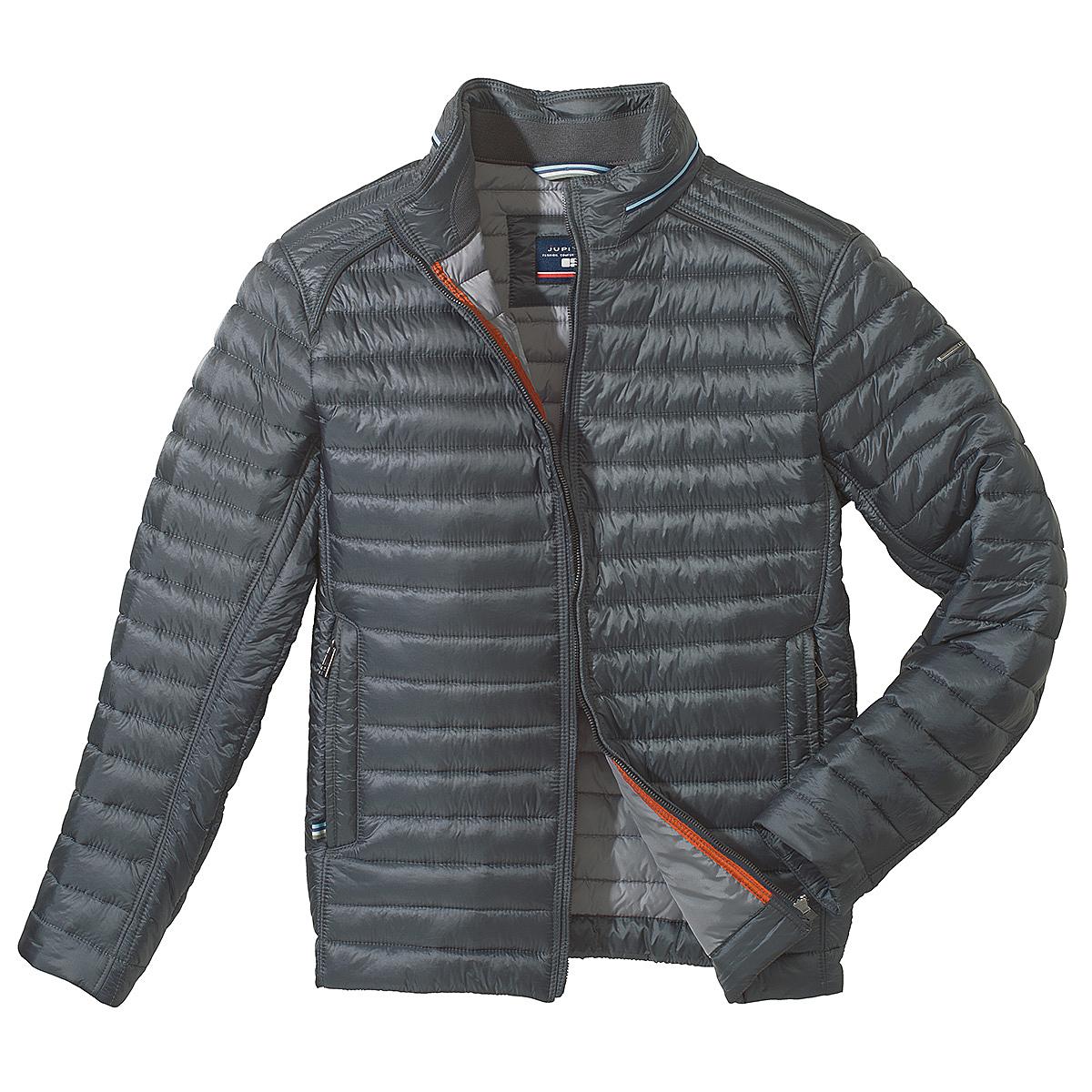 save off f7a87 7c723 Jupiter | Leichte Steppjacke | Comfort Fit | Farbe grau