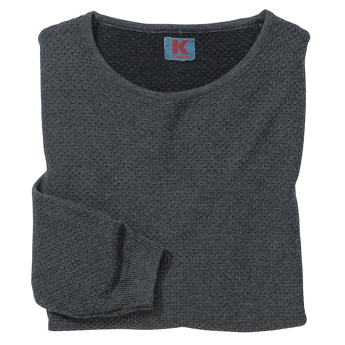 best service c9b62 d77c5 Männer-Pullover mit Wabenstruktur   Farbe anthrazit