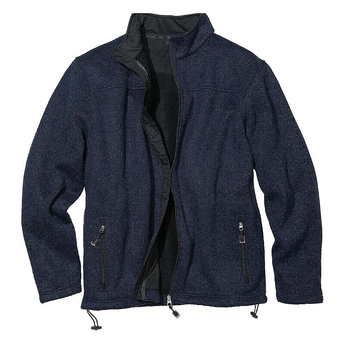viele modisch Beförderung klassischer Stil von 2019 Outdoor Strickjacke mit Fleece Futter | Farbe jeansblau