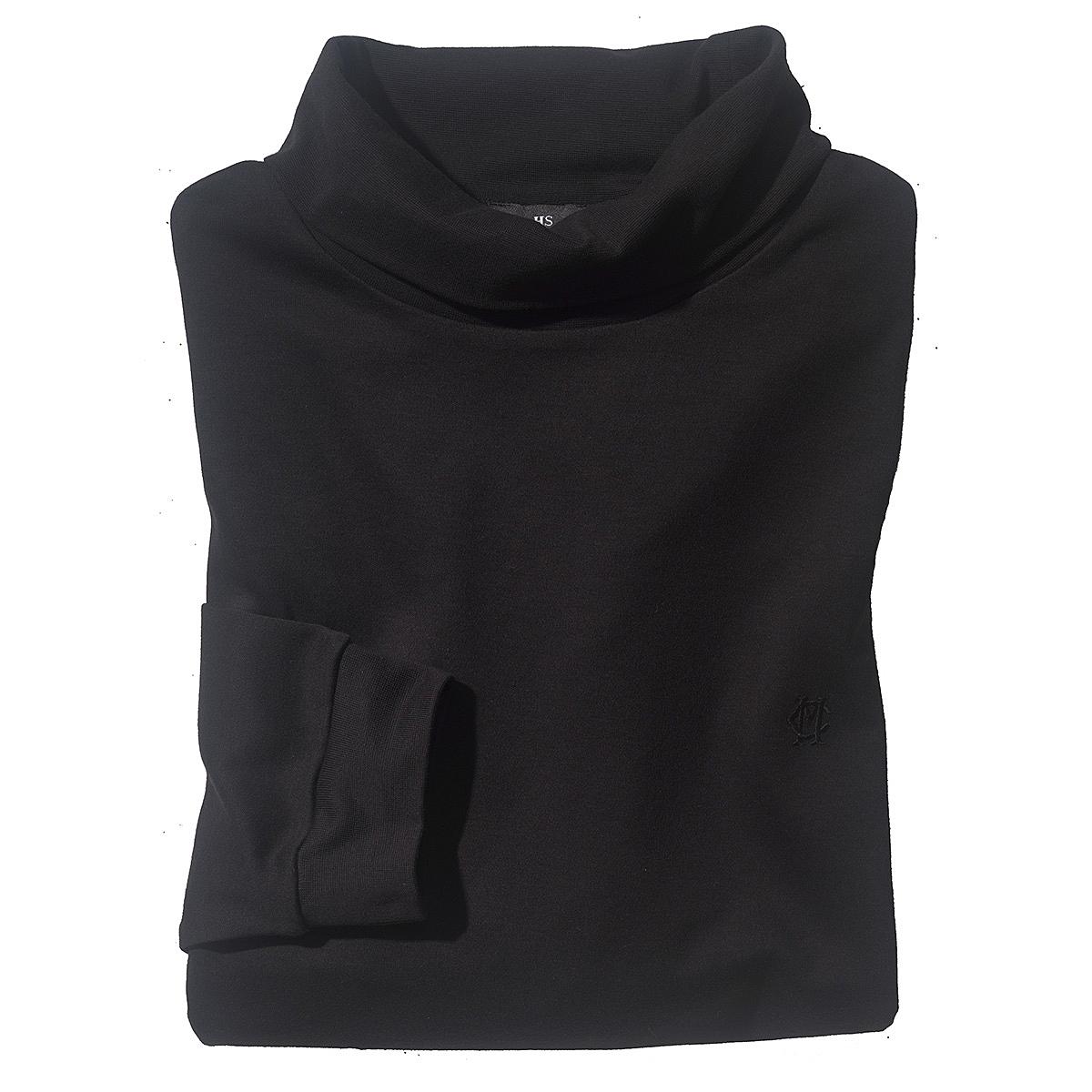 rollkragen pima baumwolle farbe schwarz gr enspezialist m nnermode. Black Bedroom Furniture Sets. Home Design Ideas