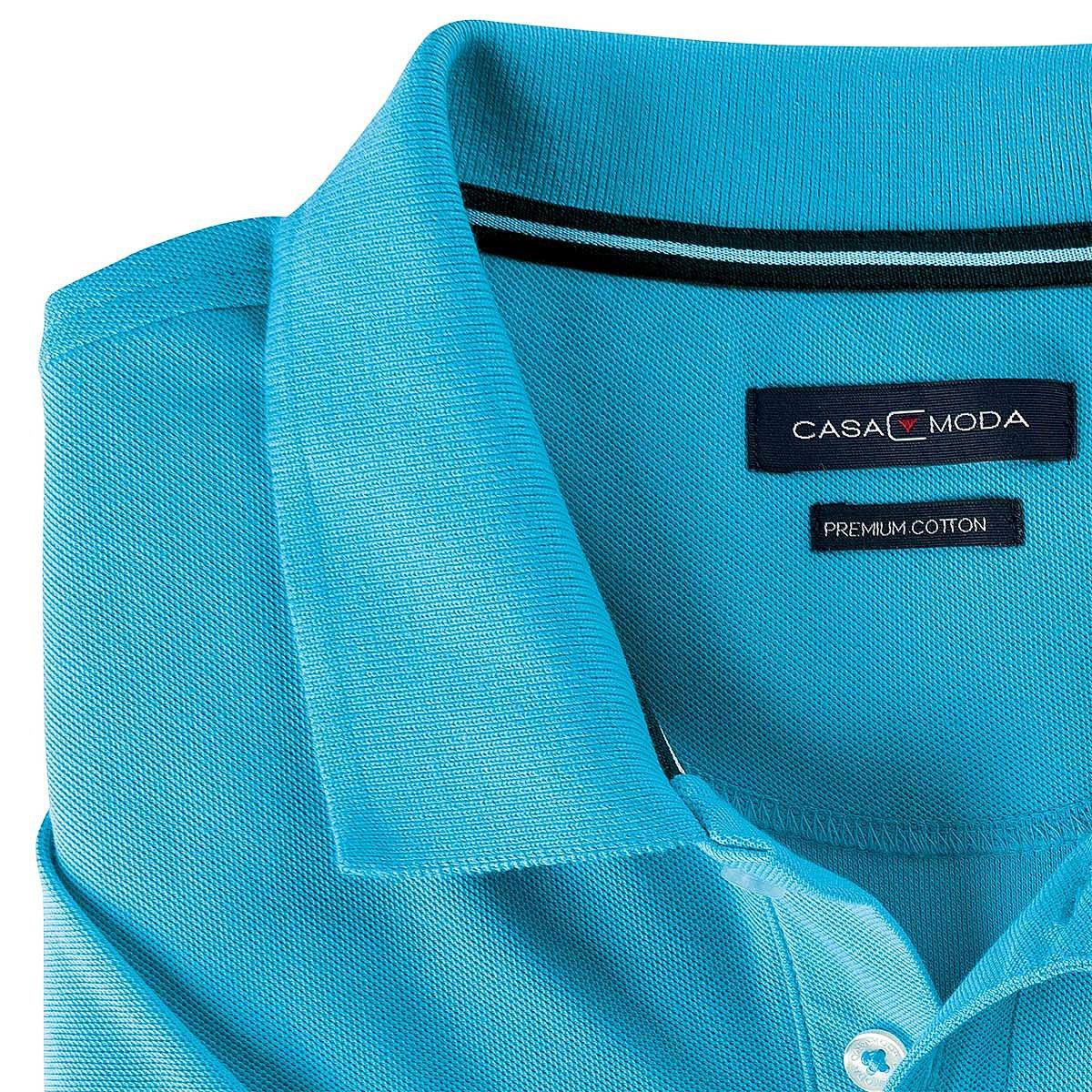 Casa Moda Polohemd Premium Cotton Farbe Hellblau