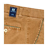 Club of Comfort | Baumwollhose High-Stretch Sommerleicht | Farbe Camel