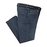 Aubi | 5 pocket Elastic Kurzleib Jeans | used look