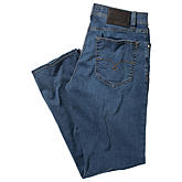 Pierre Cardin | 5 pocket Jeans Deauville | Premium Summer Denim Super Light | Farbe blue