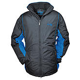 Brigg | Warme Outdoor Jacke | Winterjacke | Schwarz / Royal