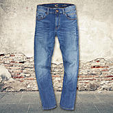 Camel active | 5 Pocket Jeans | Modell Houston | Farbe blau
