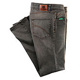 Club of Comfort | Highstretch Denim | 5-pocket Jeans | Kurzleib | Braun