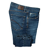 Club of Comfort | Kerniger authentischer Highstretch Denim | 5-pocket Form mit kurzer Leibhöhe | Farbe blue