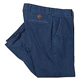 Club of Comfort | Cross Twill Hose der Premiumklasse | Farbe blau