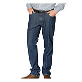 Club of Comfort | Elastische Thermojeans Swing-Pocket | Farbe blau