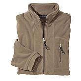 Fleecejacke Farbe taupe