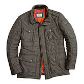 Camel active | Leichte Winter-Steppjacke | Oliv