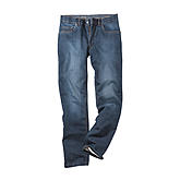 Aubi | Jogg Denim | 5 pocket Form | Kurze Leibhöhe | Farbe blue