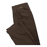 Club of Comfort | Edle 5-pocket Baumwoll-Hose Pima Cotton | Braun