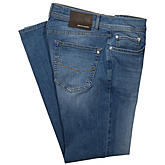 Pierre Cardin | 5-Pocket-Jeans | Form Lyon | Special Lightweight Premium Denim | stone bleach