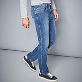 Pionier sportive | Sommerjeans High-Stretch-Denim | Farbe bleach