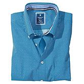Redmond | Halbarmhemd Button-down-Kragen | Farbe royal