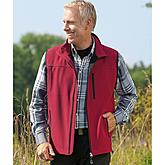Softshell Weste | Farbe rot