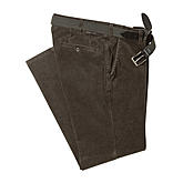 Club of Comfort | Cordhose Thermolite Kurzleib | Braun
