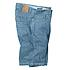 bugatti | Five-pocket Jeans-Bermuda Reine Baumwolle | Bleach