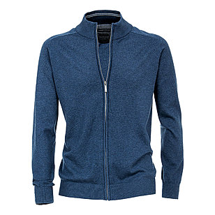 Casa Moda | Strickjacke Pima-Cotton | Royalblau