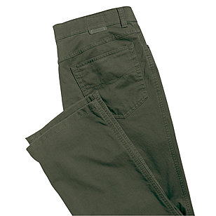 Club of Comfort | Edle 5-pocket Baumwoll-Hose Pima Cotton | Farbe oliv