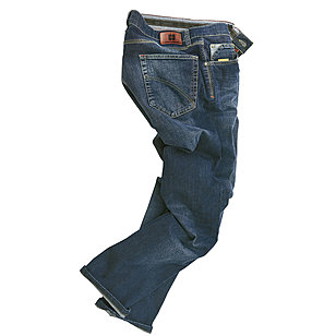 Club of Comfort | Highstretch Denim | 5-pocket Jeans | Kurzleib | Blue
