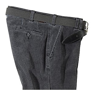 Club of Comfort | Cordhose Thermolite Kurzleib | Grau