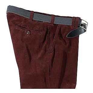 Club of Comfort | Cordhose Thermolite Kurzleib | Rot