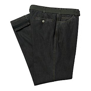 Club of Comfort | Elastische ThermoLite-Jeans Swing-Pocket | Farbe schwarz