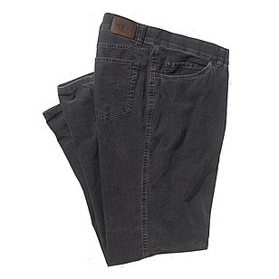 Club of Comfort | Feincord Jeans | five pocket Form | Farbe anthrazit