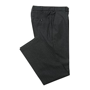 Club of Comfort | Flanellhose Premiumklasse mit Plasma Finish | Anthrazit