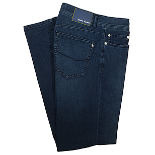Pierre Cardin | 5-Pocket-Jeans | Form Lyon | Airtouch Premium Denim | Darkblue