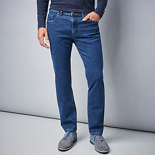 Pionier | 5 pocket Jeans | High-Stretch-Denim | Farbe blue