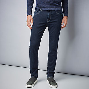 Pionier | 5 pocket Jeans | High-Stretch-Denim | Farbe darkblue