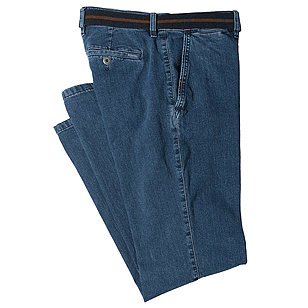 Pioneer | Flat-front-Jeans mit Stretchkomfort | Farbe blue