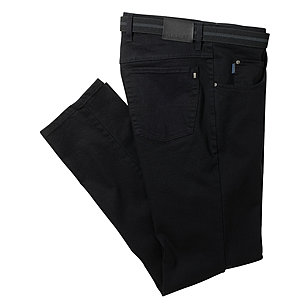 Pionier sportive | Jeans Stretch Komfort 5-pocket Form | Modell  Peter | Black