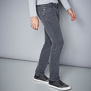 Pionier | Sommerjeans High-Stretch-Denim | Farbe grey